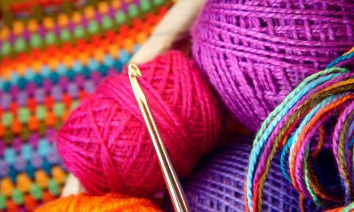 The age of social media bragging is over. Now we are too busy knitting