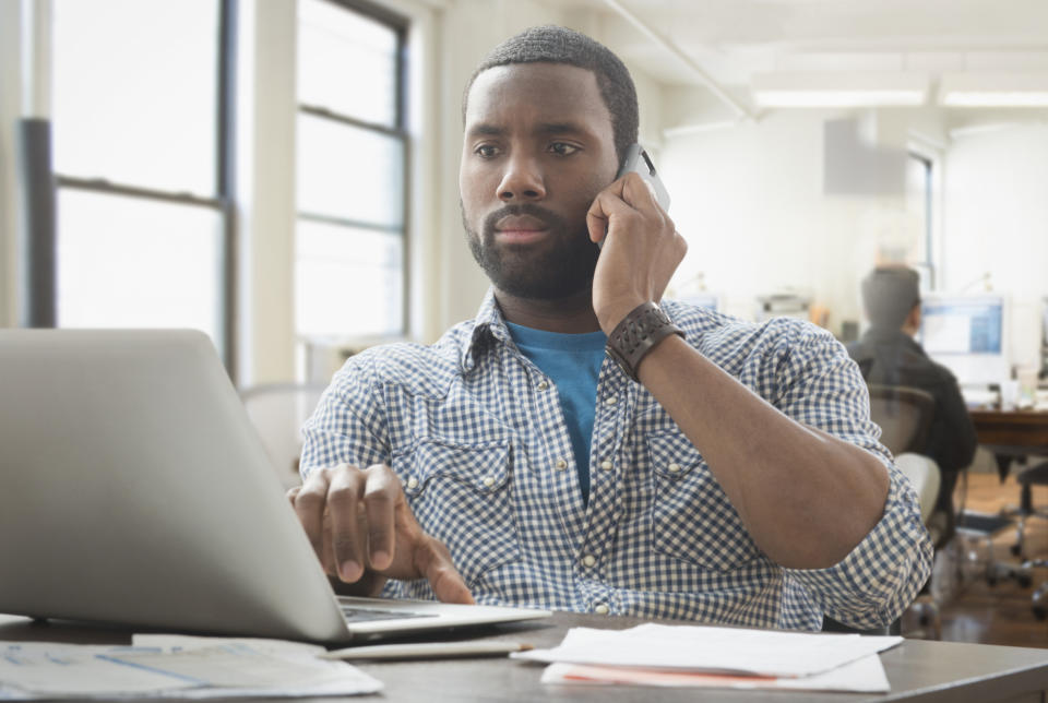 Ad pop-ups are a common sign of malware. (Photo: Getty)