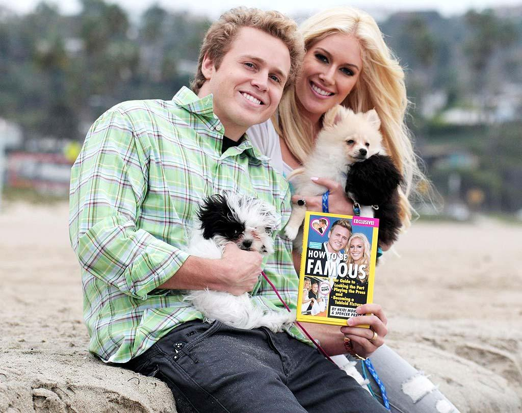 """As """"The Hills"""" gears up for its final season, is the show's most controversial couple, Heidi Montag and Spencer Pratt, also calling it quits? According to <i>OK!</i> magazine, Montag is """"moving out of her house and away from Spencer."""" Click onto <a href=""""http://www.gossipcop.com/heidi-montag-and-spencer-pratt-still-together/"""" target=""""new"""">Gossip Cop</a> to see what Heidi and Spencer say about their future together. Kevin Perkins/<a href=""""http://www. PacificCoastNews.com"""" target=""""new"""">PacificCoastNews.com</a> - November 12, 2009"""