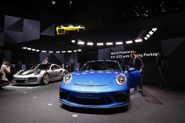 <p>Value of the brand: $10.13 billion<br>Change over previous year: +6%<br>Best-selling model: 911<br><br>(REUTERS/Kai Pfaffenbach) </p>