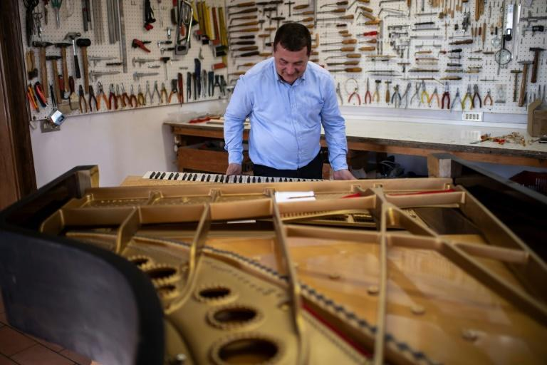 Borgato says Italy does not adequately recognise the craft of piano making, despite it being the country where the pianoforte was invented