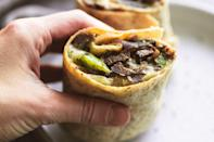 "<p>Sandwiches are great and all, but sand has a funny way of getting trapped in the nooks and crannies of the bread. <a href=""https://www.delish.com/cooking/g1092/wrap-recipes/"" rel=""nofollow noopener"" target=""_blank"" data-ylk=""slk:Wraps"" class=""link rapid-noclick-resp"">Wraps</a>, on the other hand, have a protective outer layer to help keep sand out. If you're extra paranoid about a sand-in-food situation, you can also wrap them in foil that you peel off as you eat.</p>"