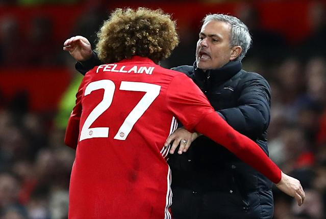 Fellaini has repaid Jose Mourinho's faith in him at Manchester United