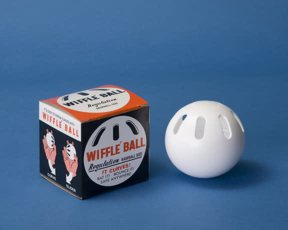 Wiffle Ball and Box