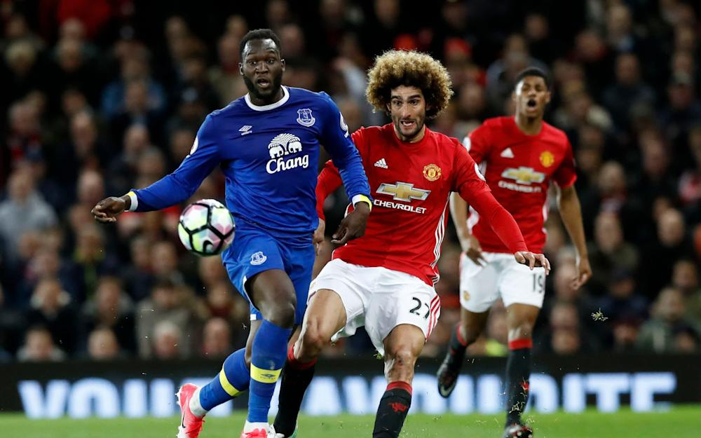 fellaini vs lukaku