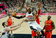 Kobe Bryant led the USA to two Olympic triumphs