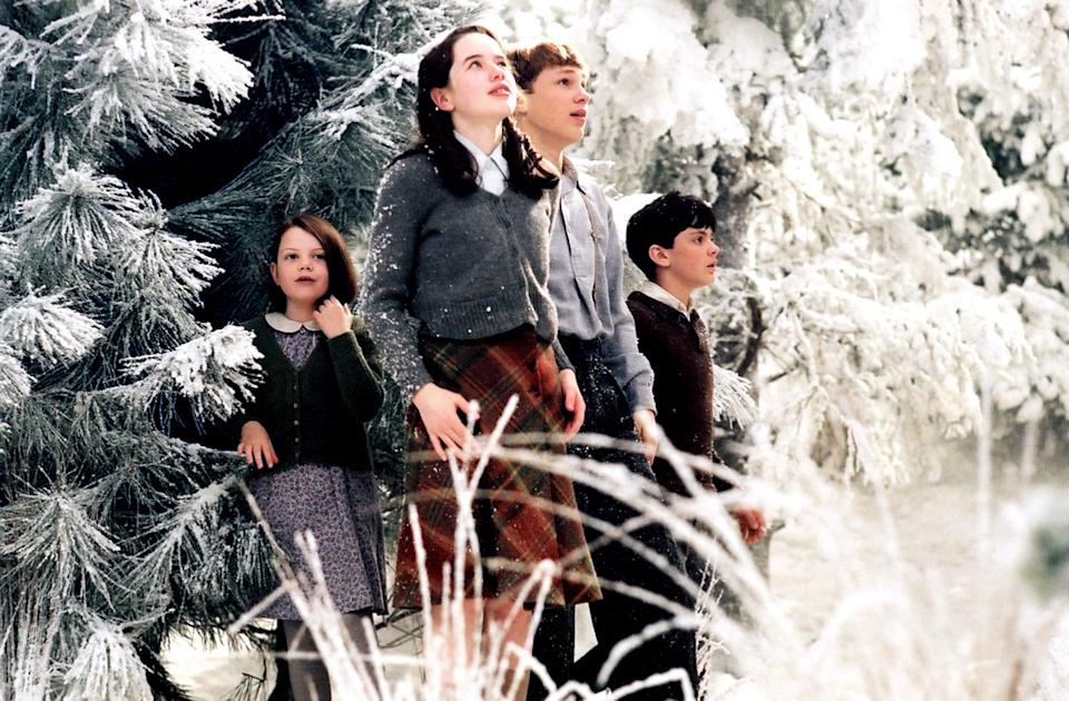 "<p>Narnia's beautiful, snowy landscape in <b>The Lion, the Witch, and the Wardrobe</b> is actually the product of a wicked spell cast by the White Witch. As a result, it's ""always Winter but never Christmas."" </p>"