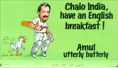 On England's poor performance in India (1993)