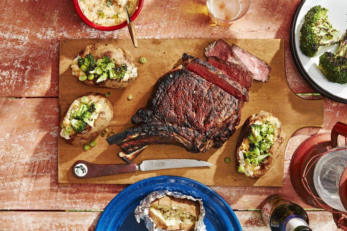 "<p>Whether it's broiled or fried, sautéed or roasted, or you have a great <a href=""https://www.countryliving.com/food-drinks/g31/best-grilling-recipes/"">grilling recipe</a>, beef has long been a favorite on American plates, and that goes doubly for steak. That's thanks in part to stabilizing prices as well as the rise of trendy, red meat-heavy diets like the paleo diet and keto diet. Of course, steak is also flat-out delicious, as our ancestors knew. The word steak stretches back to the Saxons, an ancient Germanic tribe, whose term ""steik"" meant ""meat on a stick."" But with so many different types of steak out there—not to mention all the types of steak cuts—it can be overwhelming when you're in the mood to make a steak for dinner, but can't narrow down which type you want to make. </p><p>Today, steak is served from raw (steak tartare, which is actually uncooked ground beef) to well done (often only grudgingly so in steakhouses). Generally, steak comes from three areas on the steer and is sliced across the muscle. There are so many cuts, it might seem like you need to be a butcher to figure it all out, but really all you need is a good guide, like the following. Find 15 different types of steak and cuts right here. (And don't miss brushing up on different <a href=""https://www.countryliving.com/food-drinks/g30893130/types-of-bread/"">types of bread</a> and different <a href=""https://www.countryliving.com/food-drinks/g30798763/pasta-shapes-types/"">types of pasta</a> too!)</p>"