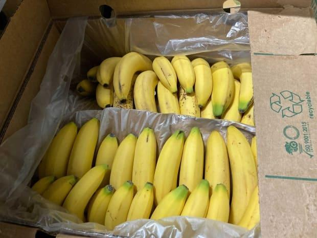 Leftovers Foundation says it has more than 150 cases of bananas that it is seeking to distribute before Tuesday.