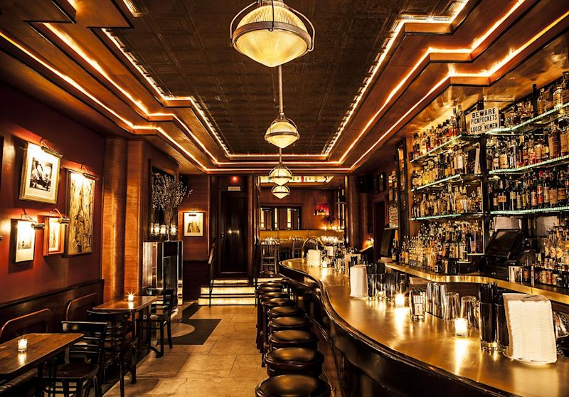 Employees Only is a popular speakeasy in New York City's West Village.
