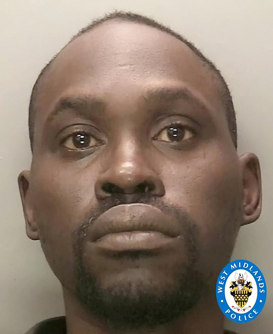 Temisan Oritsejafor.  A man who was already on bail for assaulting one police officer spat blood into a policewoman's eye as he was being arrested following a dispute with his neighbours.   See SWNSstory SWMDblood.  And Temisan Oritsejafor has been warned by a judge at Warwick Crown Court to expect 'a significant custodial sentence' – with consecutive jail terms for the two assaults.  Oritsejafor (41) of Coventry, had pleaded guilty to common assault and two charges of common assault on emergency workers.  Prosecutor Mark Phillips said that on April 18 the police were called to Vincent Wyles House because of an altercation between Oritsejafor and his neighbour Alison Osborne.  The two officers asked to go into his flat to speak to him about what had happened, but Oritsejafor, who was on bail for a previous assault on a police officer, refused.  A male officer who believed he was being aggressive took him to the floor, and was assisted by a female colleague.  As they were getting him up, he spat into the officer's face.