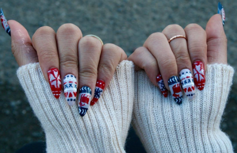 Christmas Jumper Nail Art Is The Latest Instagram Beauty Craze