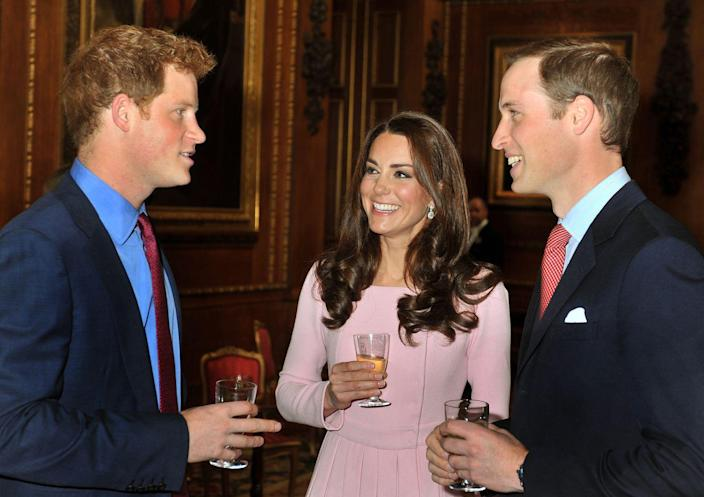 """<p>Philip is reportedly the biggest offender of wandering into the royal kitchen and liking the look of the staff's meals more than his own. So, you know. They just <a href=""""https://www.independent.co.uk/life-style/the-royal-familys-most-bizarre-eating-habits-and-unspoken-dining-rules-a7984656.html"""" rel=""""nofollow noopener"""" target=""""_blank"""" data-ylk=""""slk:swapped"""" class=""""link rapid-noclick-resp"""">swapped</a>.</p>"""