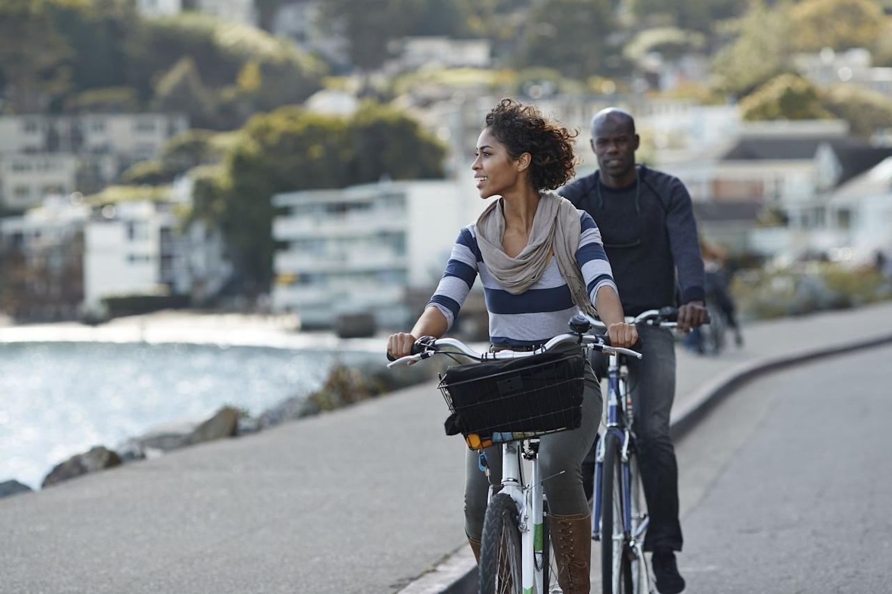 "<p>Get active on your day off and grab some friends for a group bike ride before all the eating and partying begins.</p><p><strong>RELATED: </strong><a href=""https://www.womansday.com/home/decorating/g2441/fourth-of-july-decorations/"" target=""_blank"">Festive 4th of July Decorations That'll Show Off Your Pride</a></p>"