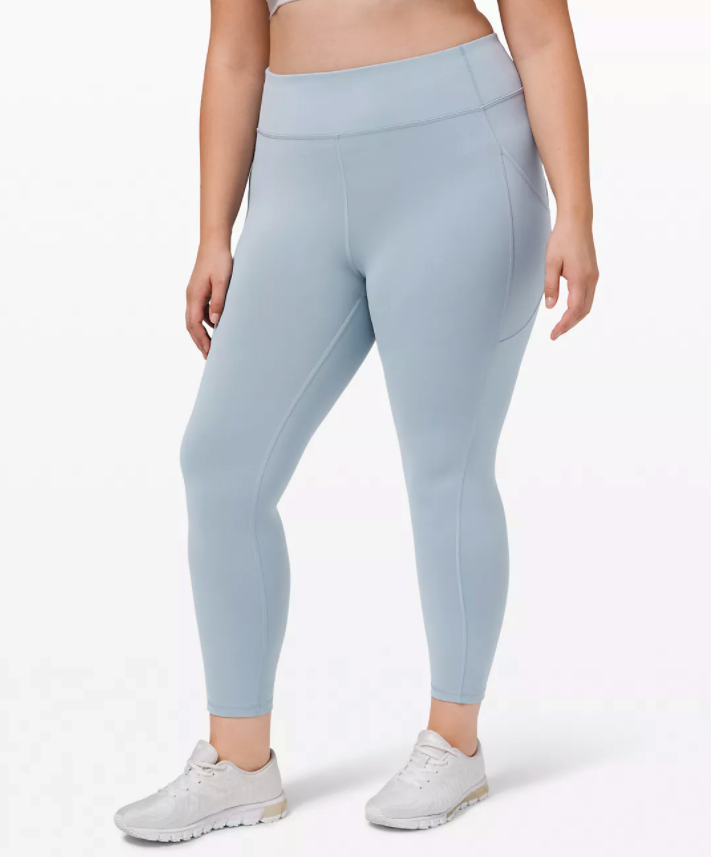 Invigorate High-Rise Tight. Image via Lululemon.