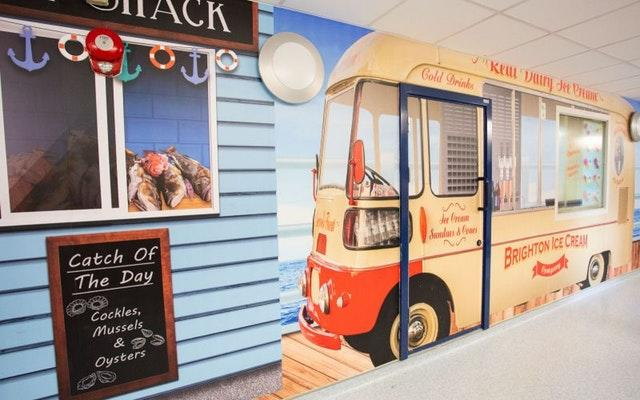 NHS hospitals vintage makeovers