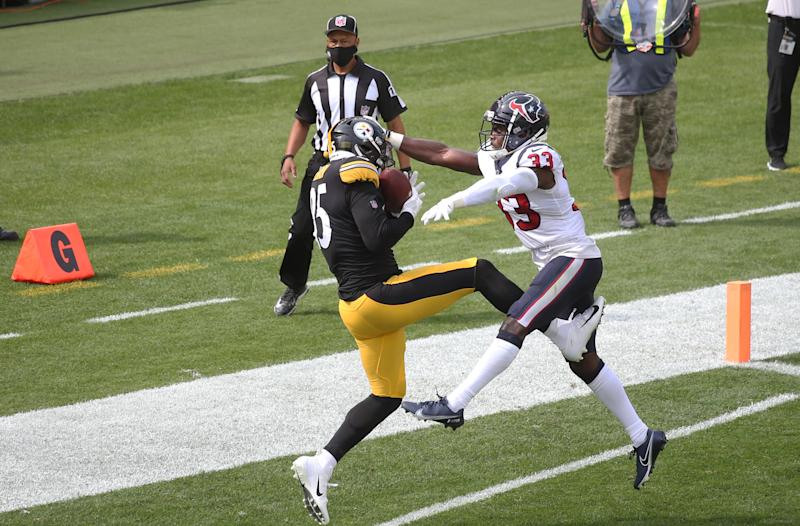 Watch Steelers TE Eric Ebron get his first TD with Pittsburgh