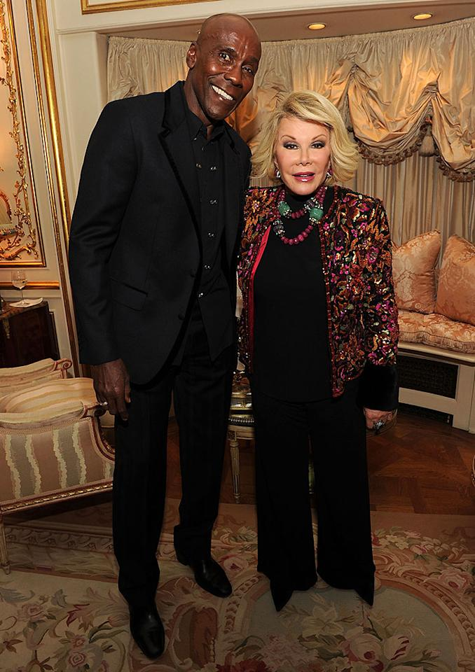 Preston Bailey and Joan Rivers
