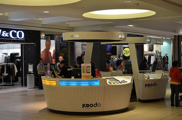 <p>No. 2: Koodo Mobile<br>Rating: 796<br>(Raysonho / Wikimedia Commons) </p>