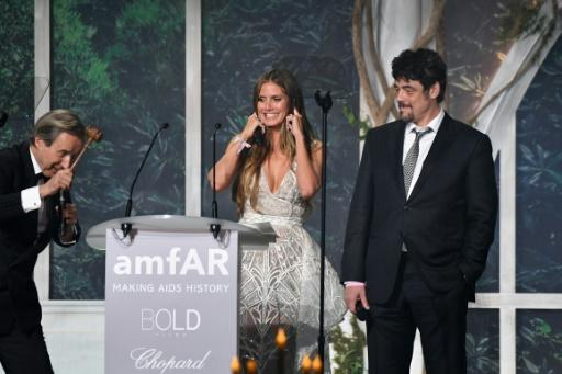 The American Foundation for AIDS Research Foundation (amFAR) charity dinner at the exclusive Eden Roc hotel at Cap d'Antibes, near Cannes, is the social highlight of the festival