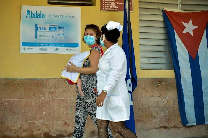 Cuban public health officials started vaccinating people against COVID-19 with the Abdala shot in late May, even before the drug received certification by the local regulatory agency.