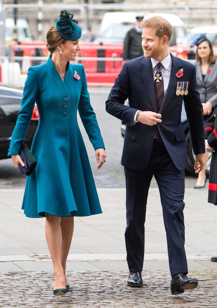 Kate Middleton and Prince Harry | Samir Hussein/WireImage