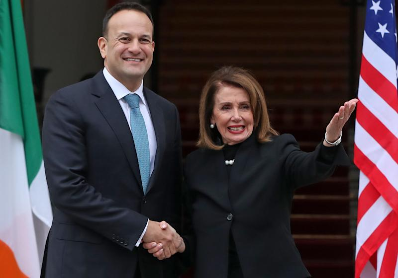 Brexit: Nancy Pelosi says seamless Irish border must not be threatened by UK leaving EU