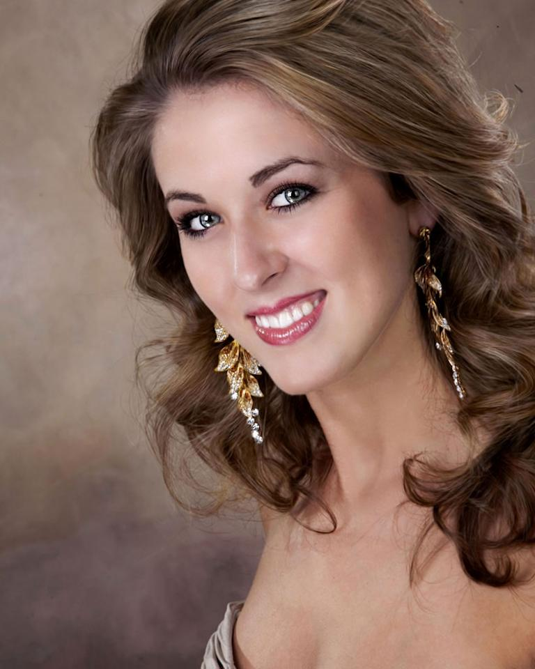 "Miss Nebraska, Kayla Batt is a contestant in the ""<a href=""/2012-miss-america-pageant/show/48165"">2012 Miss America Pageant</a>."""