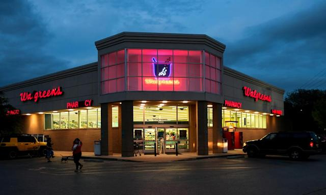 """<span class=""""element-image__caption"""">Walgreens, the second-largest pharmacy chain in the US, is among the companies in the dock in Cleveland.</span> <span class=""""element-image__credit"""">Photograph: Mohammad Khursheed/Reuters</span>"""