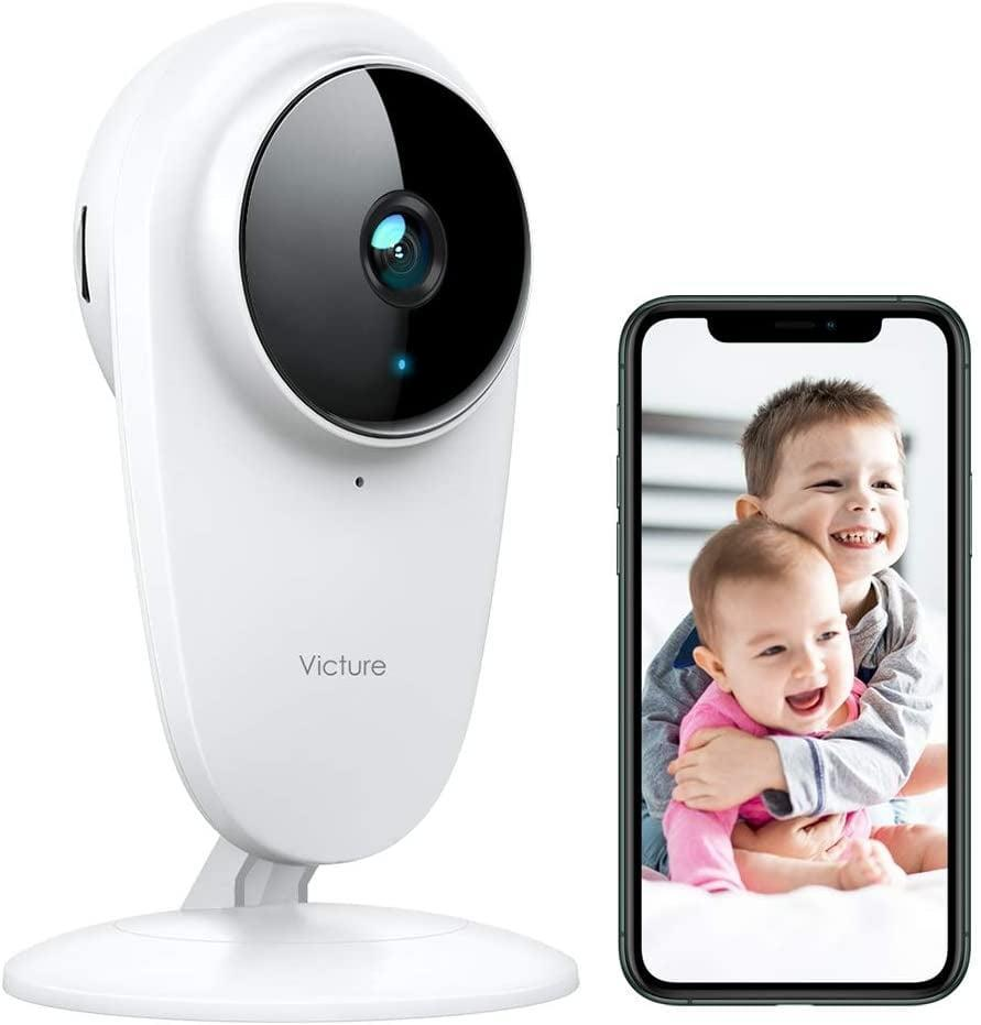 <p>Keep an eye on pets and kids with the <span>Victure 1080P FHD Baby Monitor Pet Camera</span> ($33). It has two-way audio, motion detection, and night vision.</p>