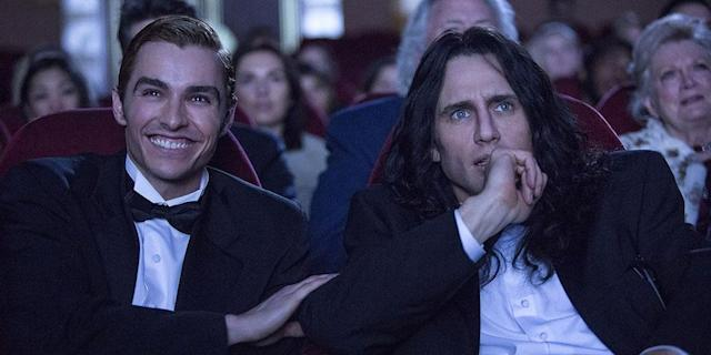 Dave Franco and James Franco in 'The Disaster Artist' (Photo: TIFF)