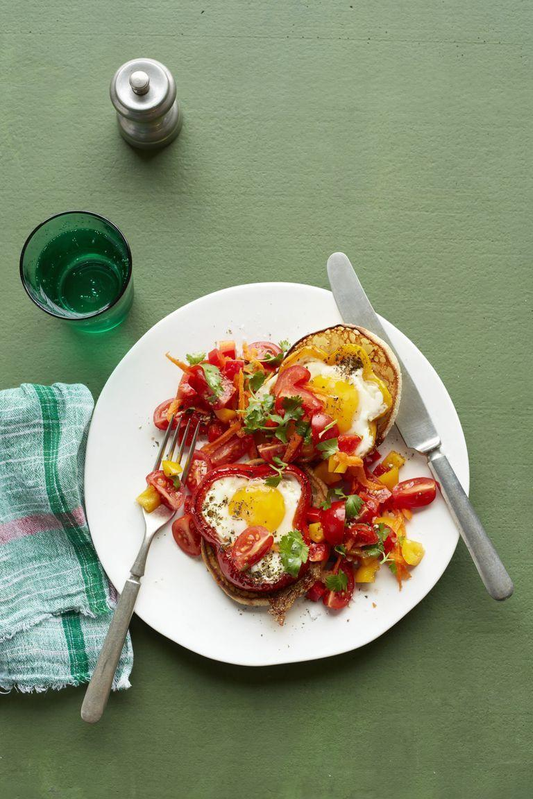 """<p>A brilliant brunch idea, these whimsical eggs are bathed in a toothy crudité-infused salsa made with fresh carrots. You can serve over bread or an English muffin, or cut more carbs by doubling down on a bed of snappy veggies.</p><p><em><a href=""""https://www.womansday.com/food-recipes/food-drinks/recipes/a57686/egg-pepper-rings-carrot-salsa-recipe"""" rel=""""nofollow noopener"""" target=""""_blank"""" data-ylk=""""slk:Get the recipe from Woman's Day »"""" class=""""link rapid-noclick-resp"""">Get the recipe from Woman's Day »</a></em></p>"""