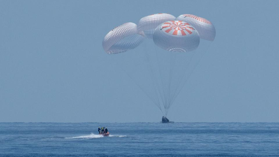 On Sunday (Aug. 2), NASA astronauts Bob Behnken and Doug Hurley splashed back down on Earth inside of a SpaceX Crew Dragon capsule, successfully completing the SpaceX Demo-2 mission to and from the International Space Station. This was the first splashdown landing for the U.S. in roughly 45 years.
