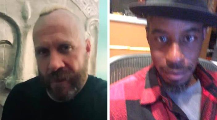 Ray Park (left) and (Ahmed Best) (right), better known to some as Darth Maul and Jar Jar Binks, are some of the several actors available on Cameo.