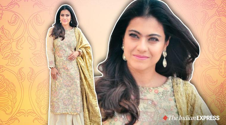 kajol, kajol tanhaji promotions, kajol tanhaji photo, kajol tanhaji promotions photos, kajol tanhaji promotions photo, indian express, indian express news, kajol ajay devgn tanhaji photos