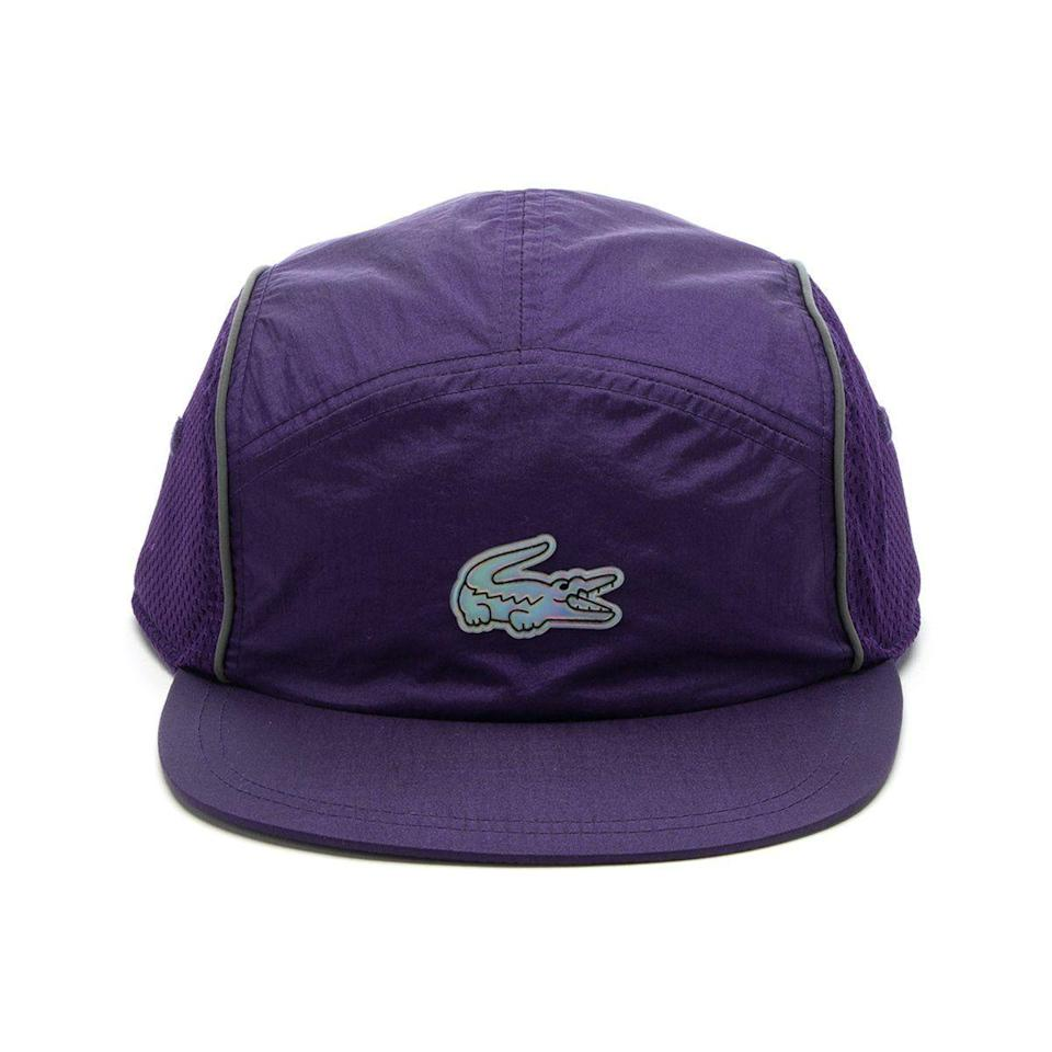 "<p><strong>Concepts x Lacoste</strong></p><p>cncpts.com</p><p><strong>$60.00</strong></p><p><a href=""https://cncpts.com/collections/concepts-view-all/products/concepts-x-lacoste-cap-rk9965-jp9-tanzanite"" rel=""nofollow noopener"" target=""_blank"" data-ylk=""slk:Shop Now"" class=""link rapid-noclick-resp"">Shop Now</a></p><p>Good hats are always a good idea, and that goes double when it's hot outside.</p>"
