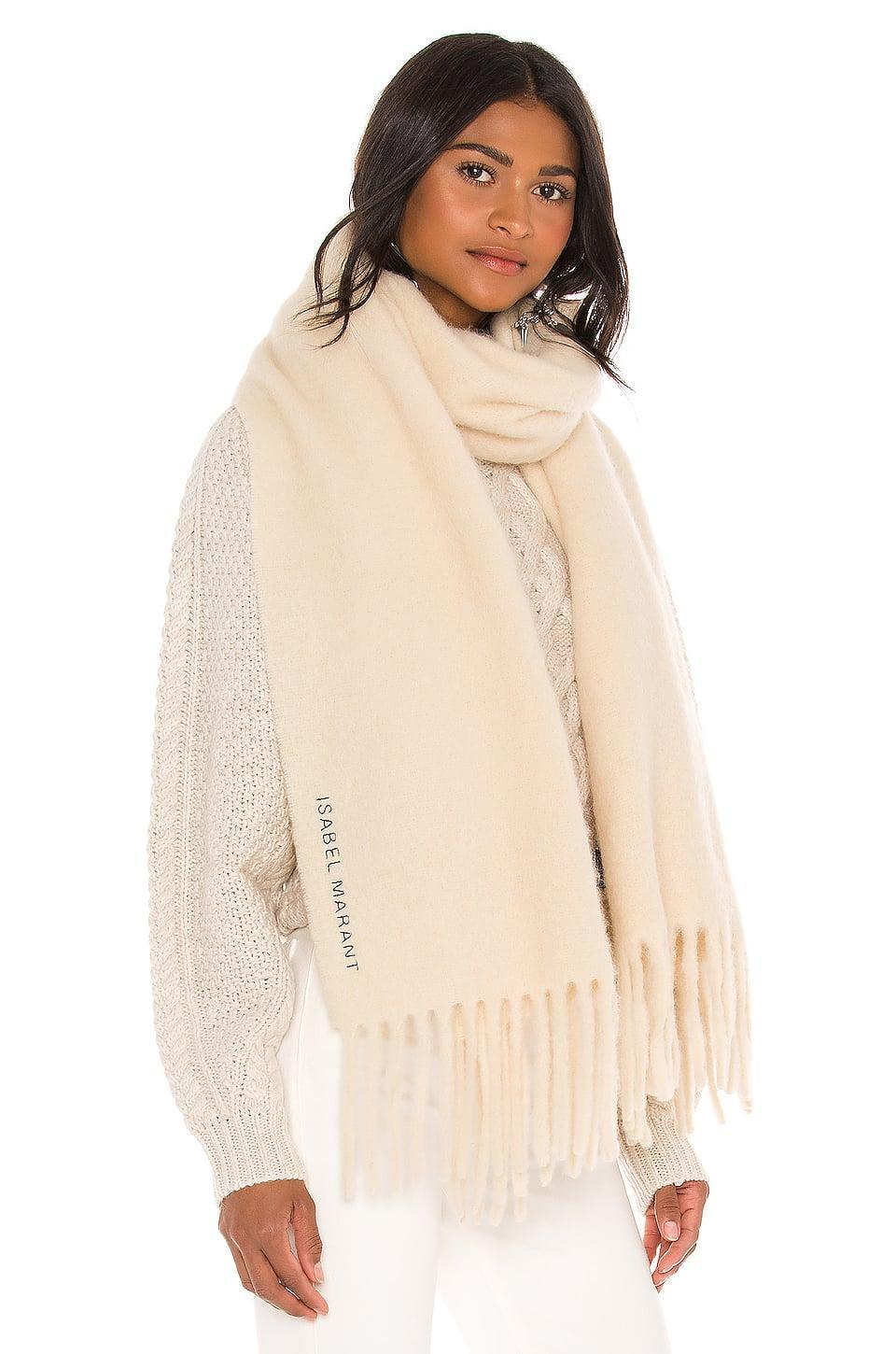 <p>They'll want to get cozy in this <span>Isabel Marant Firna Scarf</span> ($370).</p>