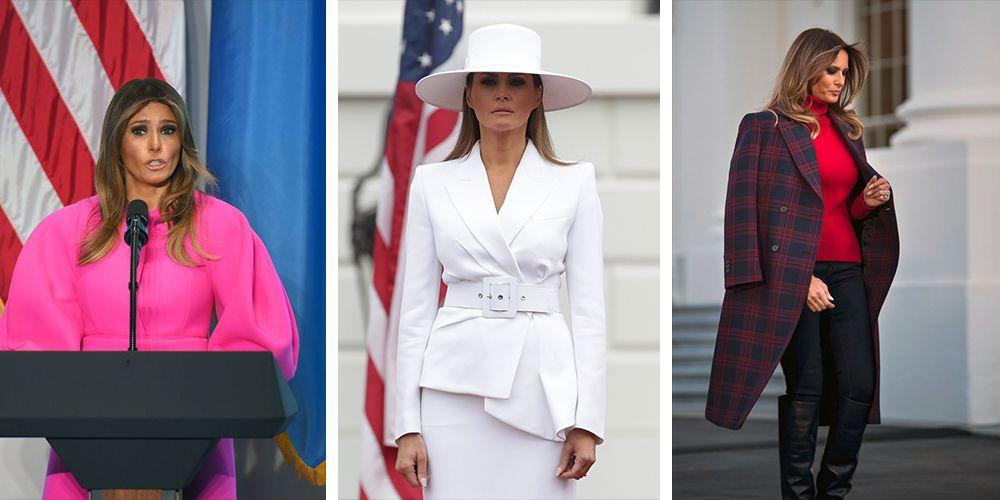 <p>People are always watching what the First Lady is wearing  -  it sort of comes with the territory. Things are no different with Melania Trump. Here are some of her most talked-about looks so far.</p>