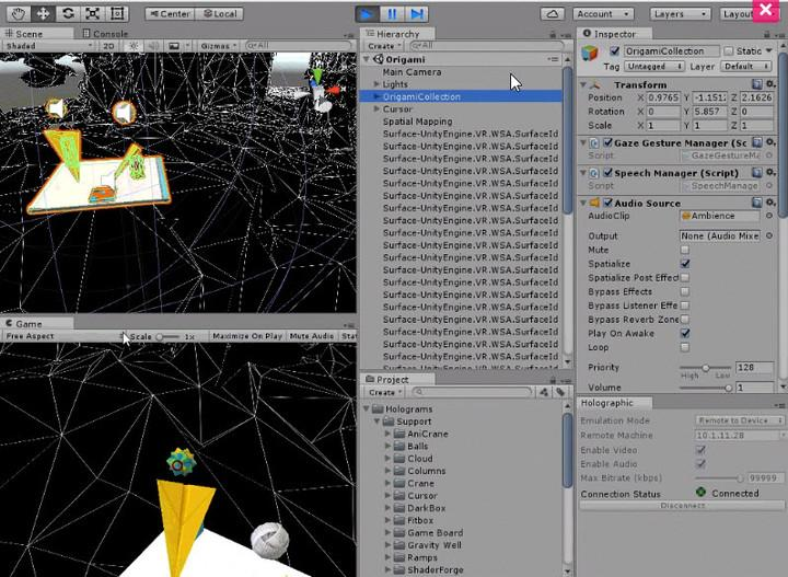 unity-windows-holographic-support