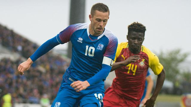 The Everton midfielder reflects on Thursday's World Cup warm-up match between Iceland and the Black Stars