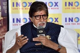 Amitabh Bachchan shares a 'word of caution' on social media to his fans