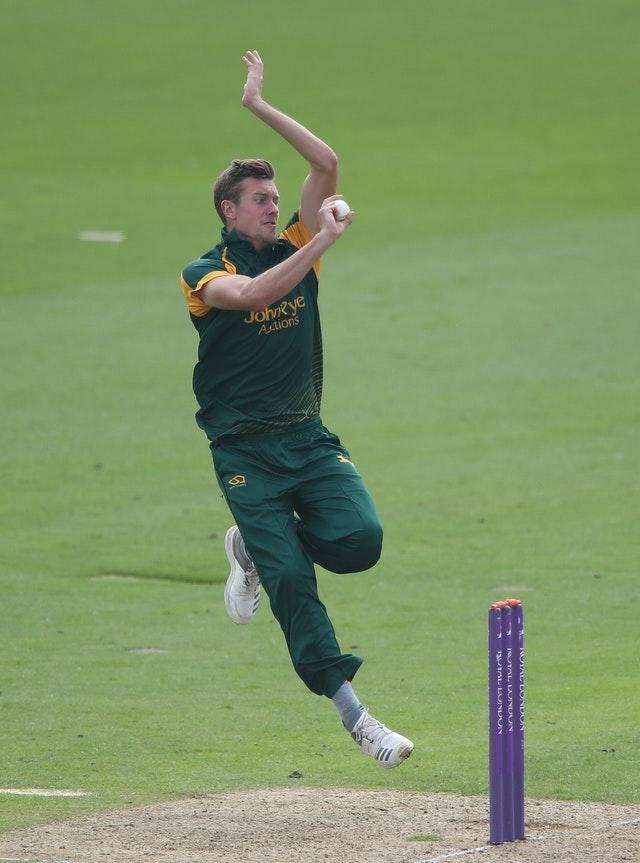 Jake Ball is the Blast's joint top wicket-taker.