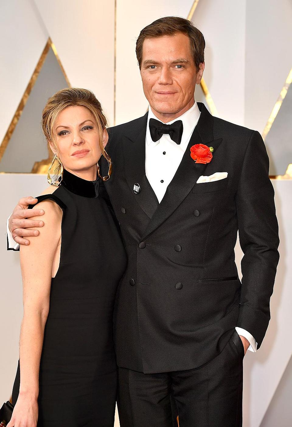 <p>Kate Arrington and Michael Shannon attend the 89th Annual Academy Awards at Hollywood & Highland Center on February 26, 2017 in Hollywood, California. (Photo by Jeff Kravitz/FilmMagic) </p>