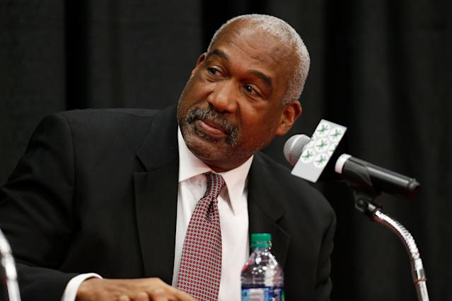 Ohio State AD Gene Smith is chairing the NCAA's working group examining athletes' image and likeness rights. (Photo by Kirk Irwin/Getty Images)