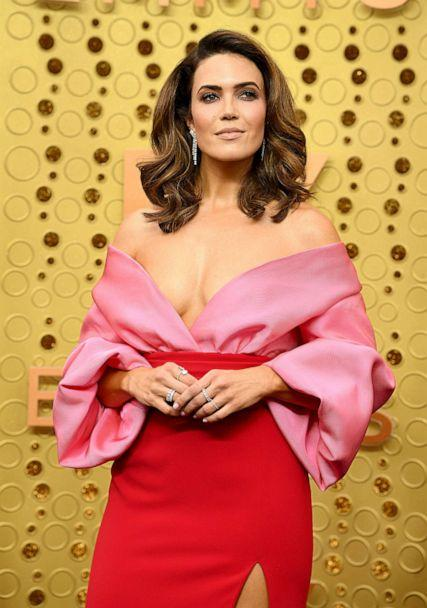 PHOTO: Mandy Moore attends the 71st Emmy Awards at Microsoft Theater on September 22, 2019, in Los Angeles. (Jeff Kravitz/FilmMagic via Getty Images)