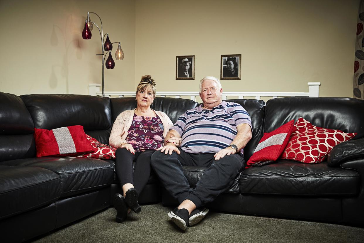 Linda and Peter Gilbey. (Channel 4)