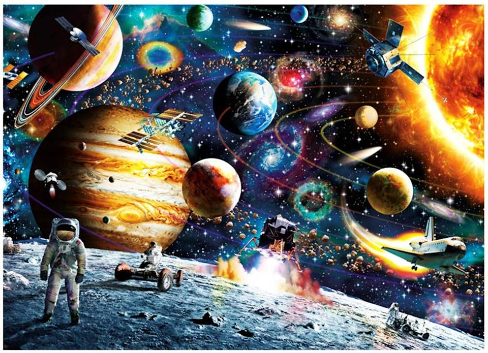 Space Puzzle. Image via Amazon.