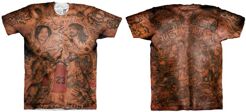 5672c421c Someone Made a  Shirtless J.R. Smith  T-Shirt and It s F cking Fantastic