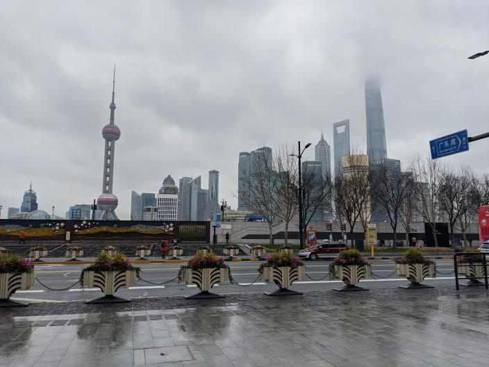 Shanghai: 'It's an absolute ghost town' (Molly Holt)